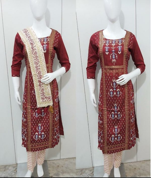 shawl and Salwar